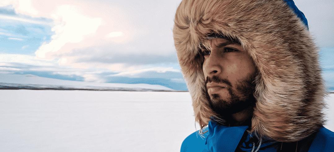 Moufid Taleb, un explorateur normand au Groenland